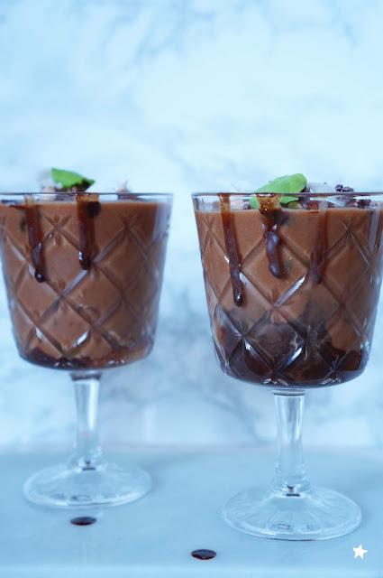 milkshake vegan coco cacao menthe