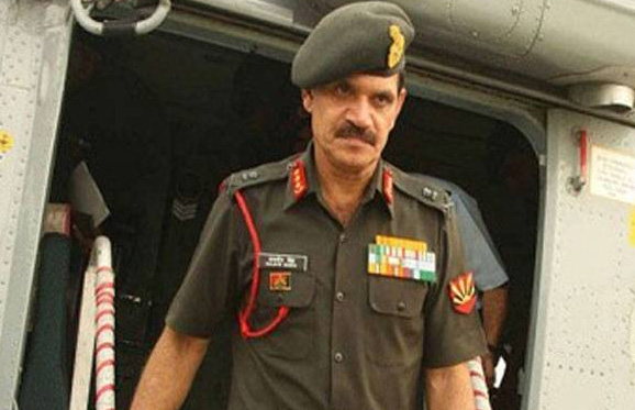 Army Chief reviewed on Kashmir Situation