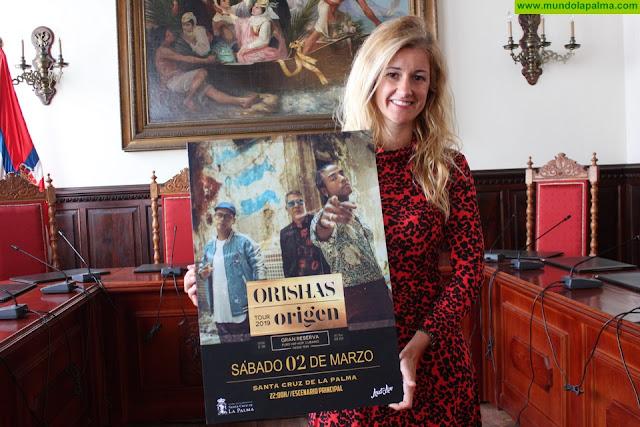 El grupo cubano Orishas actuará en el Carnaval de Santa Cruz de La Palma