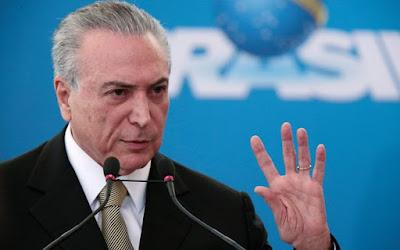 Rais wa zamani wa Brazil Temer akamatwa