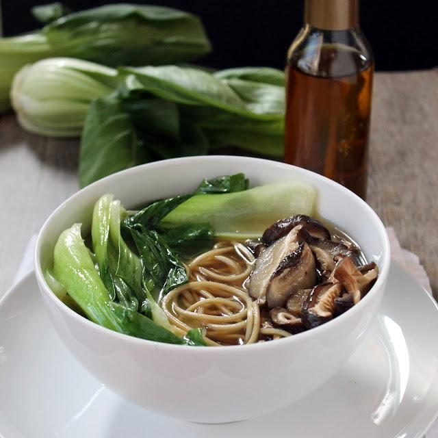 Slow Cooker Shio Ramen with Chili Oil