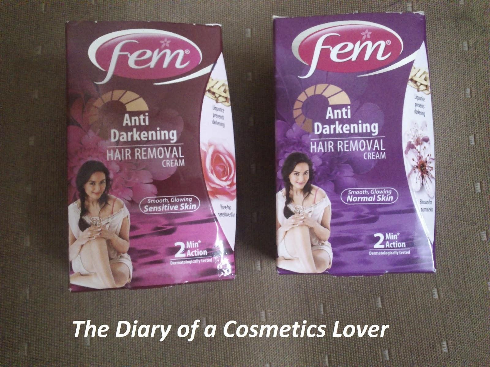The Beauty Diaries Fem Anti Darkening Hair Removal Cream Review