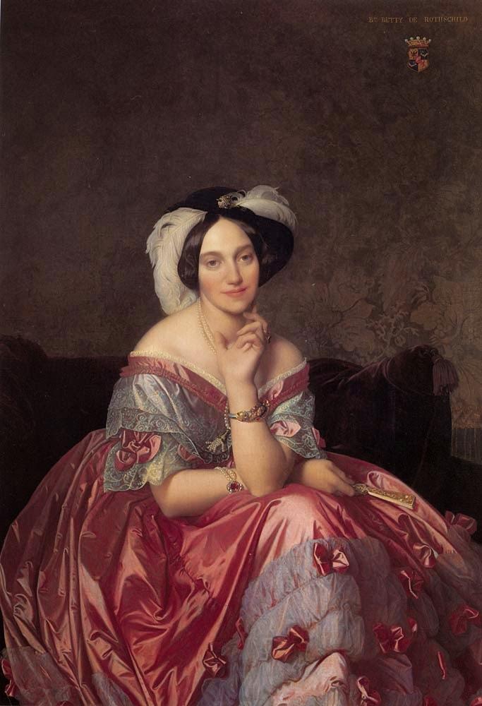 Baronesa James de Rothschild - Ingres e suas principas pinturas ~ Neoclassicismo