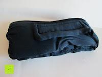 auspacken: Schlafmaske DORMIDO von Fedano - Premiumqualität aus BIO-Baumwolle und Echter SEIDE - Schwarz - Hochwertige Schlafbrille & Augenmaske für Frau und Mann - Für die Reise und Zuhause Geeignet - HERGESTELLT in MÜNSTER, NRW