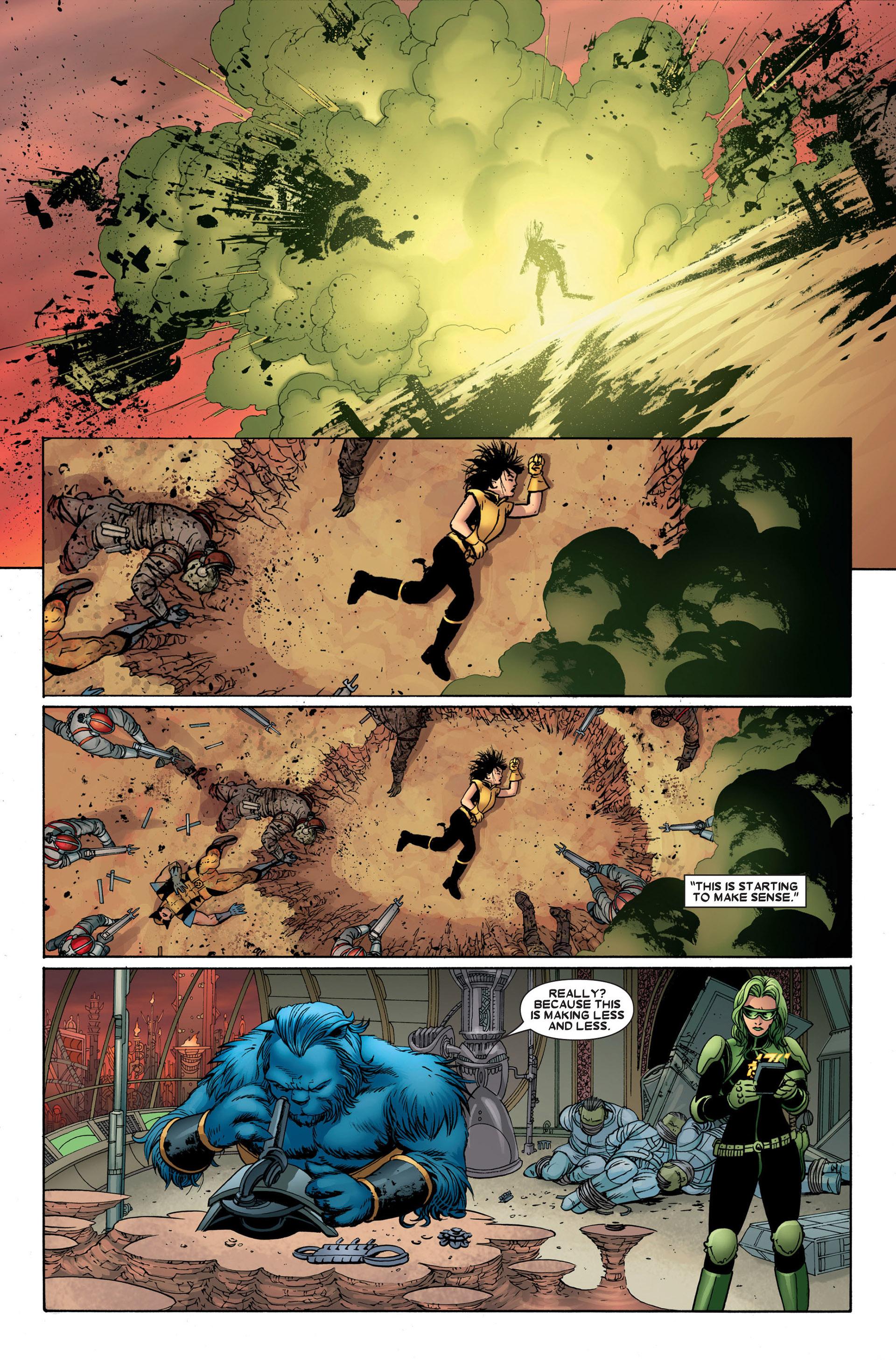 Read online Astonishing X-Men (2004) comic -  Issue #23 - 10