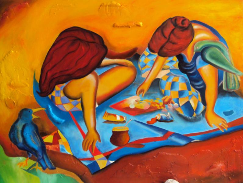 Lembranças da Infância - Bruno Netto e suas pinturas ~ Pintor português