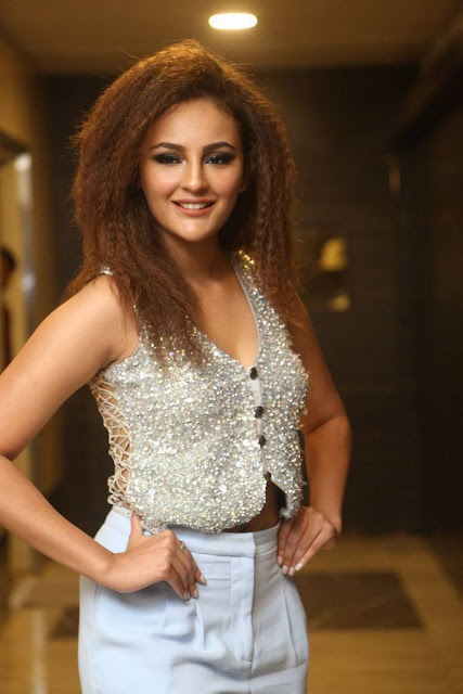 Seerat Kapoor Stills At Touch Chesi Choodu Pre Release Event