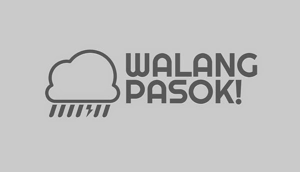 Suspension of Work #WalangPasok