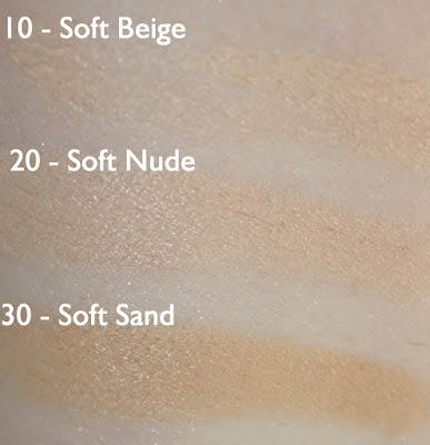 essence pure nude foundation concealer