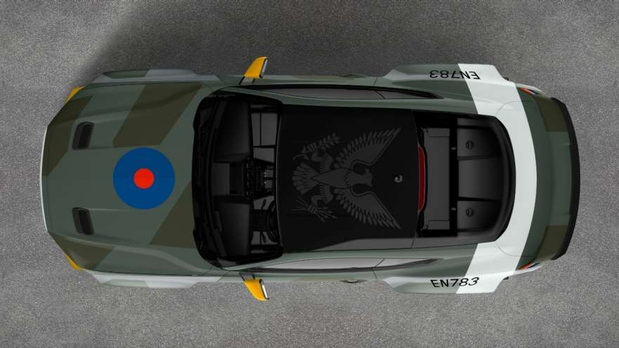 Ford reveals Fighter-Plane-Inspired, A 700-HP Mustang For Charity