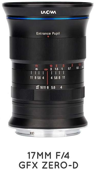 Laowa 17mm f/4 GFX Zero-D