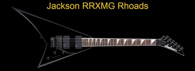 Guitarra Eléctrica Modelo Rhoads Jackson RRXMG Rhoads