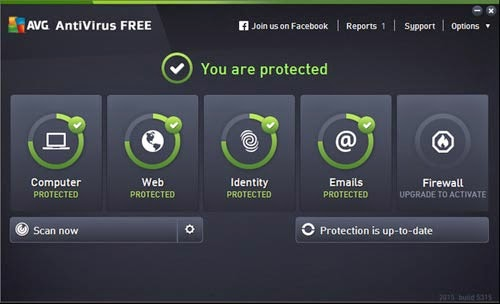 AVG Free Antivirus, download AVG