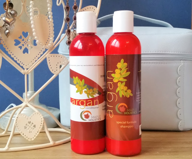 Maple Holistics Argan Haircare & Giveaway