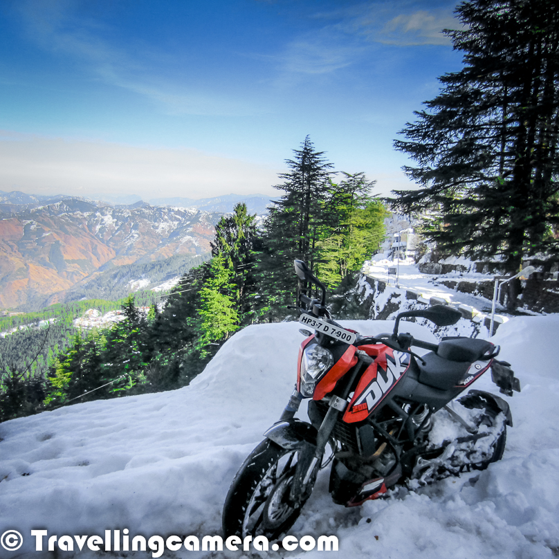 Enroute Moonland Snow Biking In India By Aneesh
