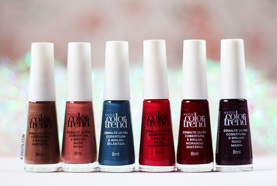 Swatches: Esmaltes 'Pabllo Vittar' Color Trend - Avon
