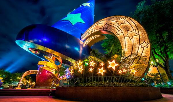Parques temáticos Disney inicio