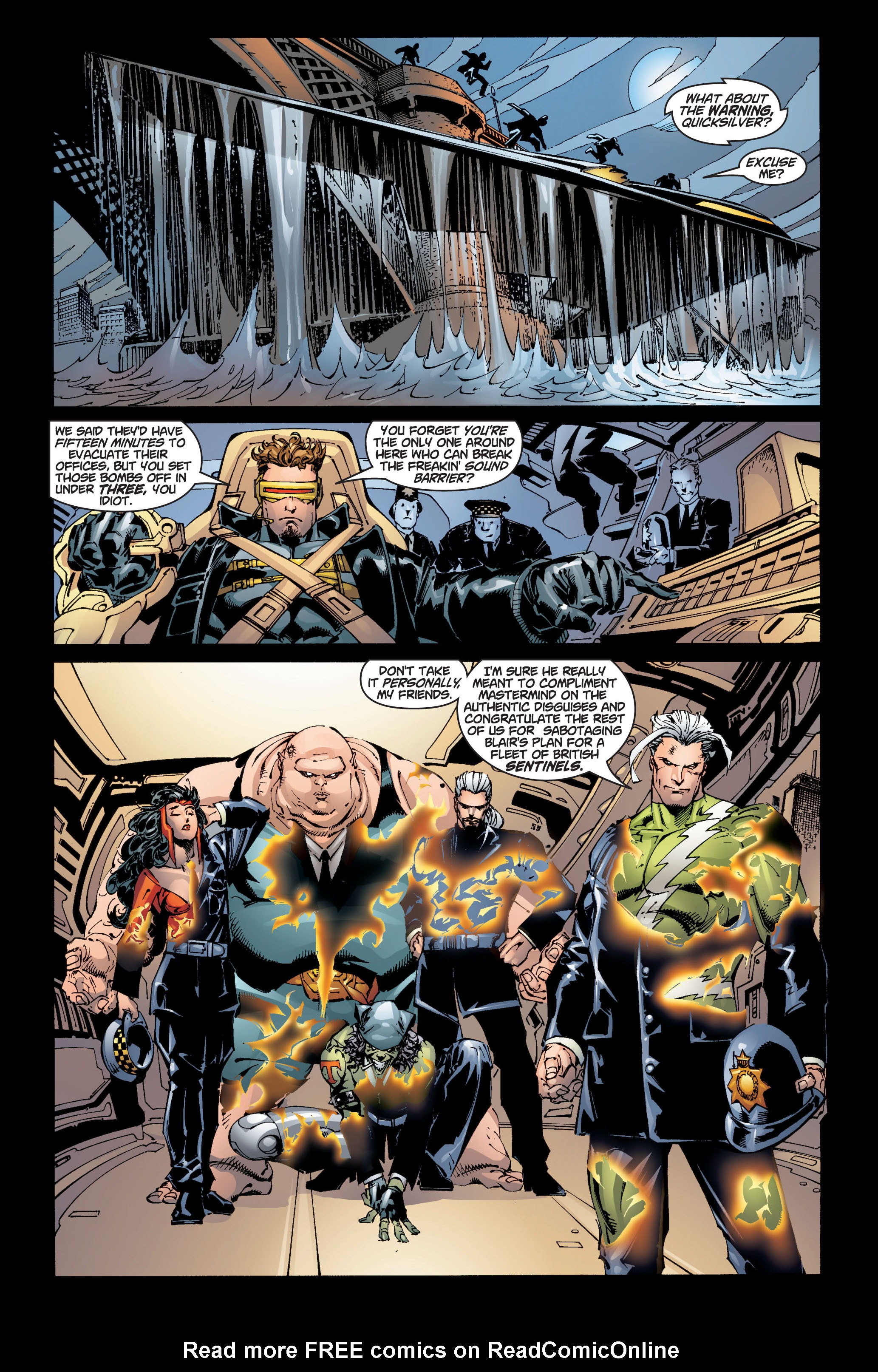 Read online Ultimate X-Men comic -  Issue #5 - 4