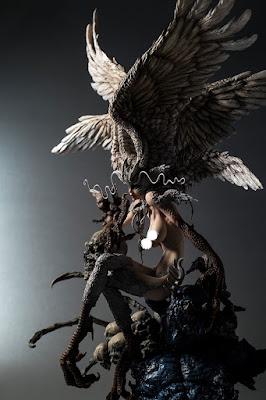"""Figuras: Primeras imágenes de Sirene de """"Devilman"""" - Gill Gill"""