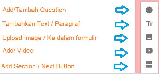 Cara membuat survey online langkah 3