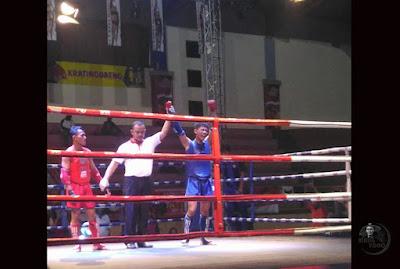 Tovan Nopian kelas senior putra 54 kg