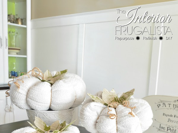 How To Make Sweater Pumpkins With Vintage Cabinet Knob Stems
