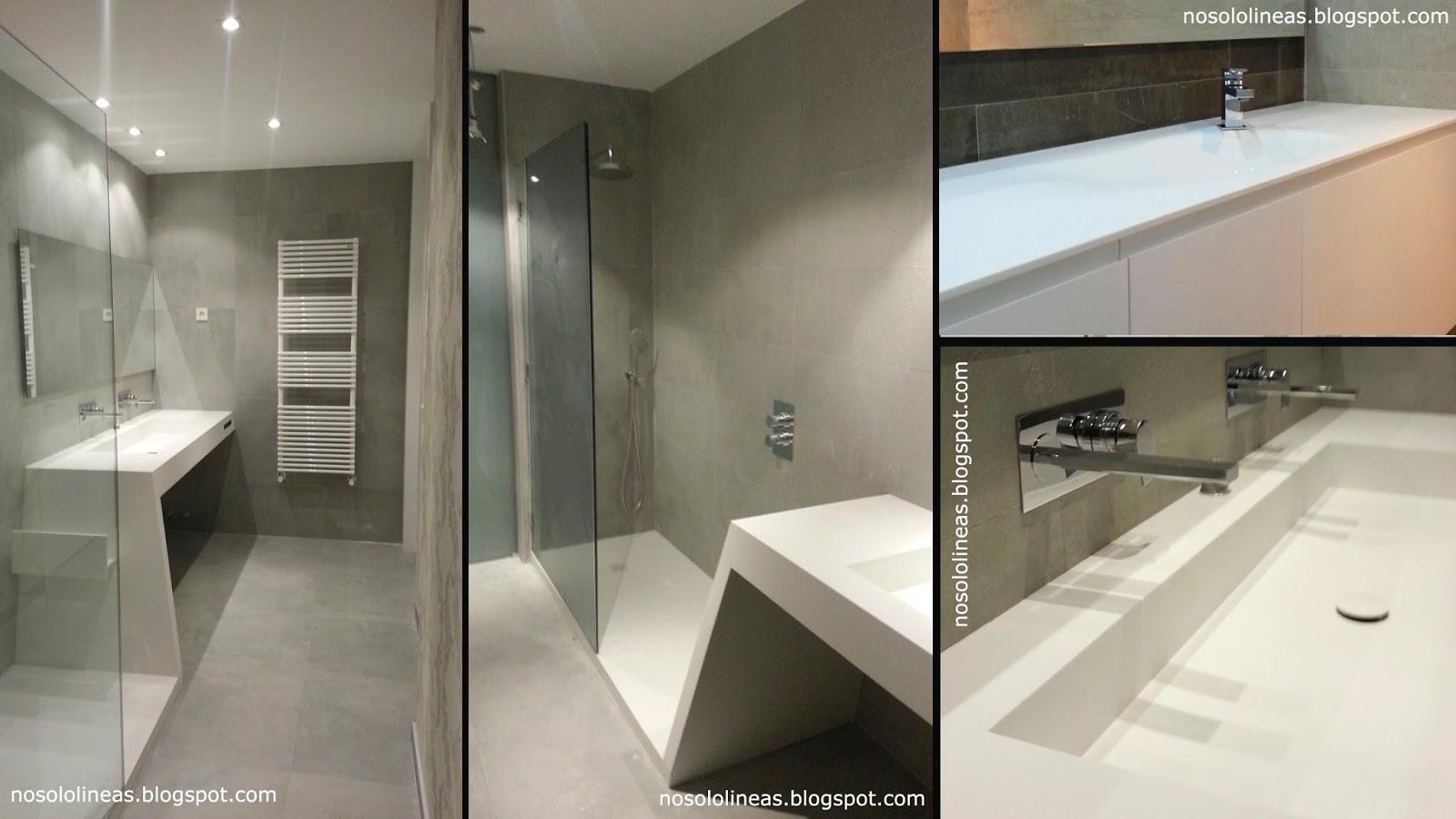 Platos de ducha corian stunning price for corian shower - Plato ducha corian ...