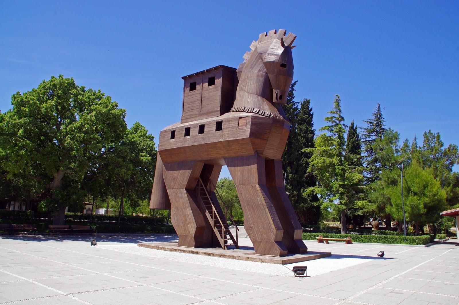 Trojan Horse in Troy