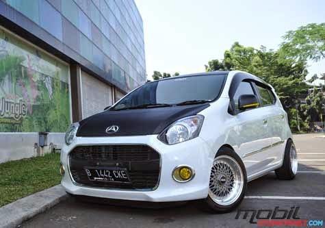 Modifikasi Eksterior Daihatsu Ayla Terbaru 2014