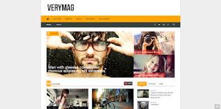 VeryMag blogger template