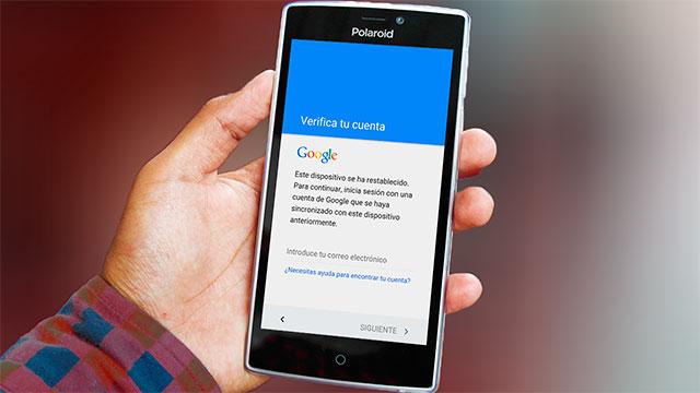 Eliminar cuenta Google Polaroid COSMO y TURBO todos los modelos