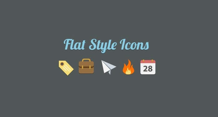 Flat Style Icon Pack