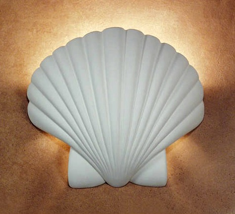 Shell Wall Sconce Lights - Completely Coastal