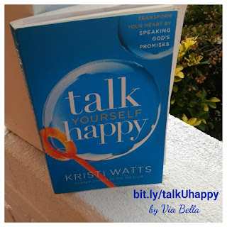 Talk Yourself Happy, Kristi Watts, 700 Club, Self Help, Book Review, Booklook Blogger