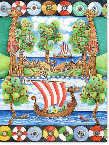 Fröhliche Wandbilder fürs Kinderzimmer - Tipss und Vorlagen