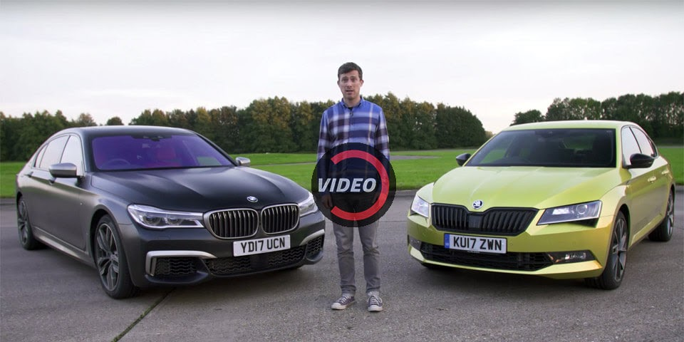 Can A Skoda Superb Really Hold Its Own Against A BMW M760Li?