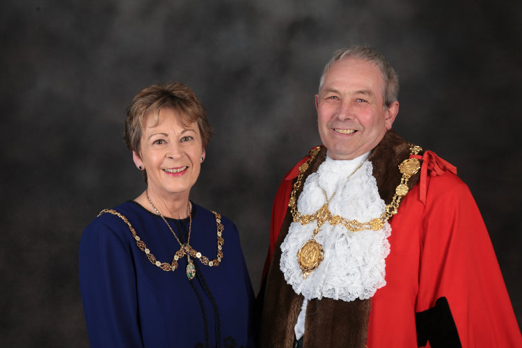 Mayor and Mayoress of Scarborough