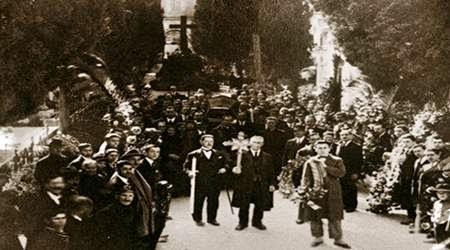 varrimi i luigj gurakuqit 8 mars 1925