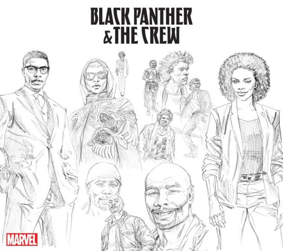 Black Panther & The Crew Comic Get Revived In Brand New Cover