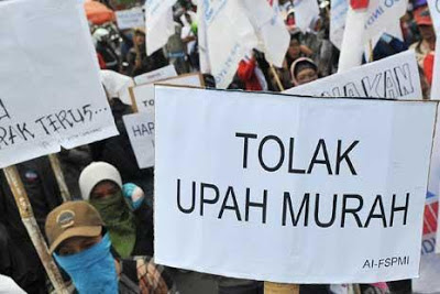 Daftar UMP 2013 (Upah Minimum Provisi) Seluruh Indonesia