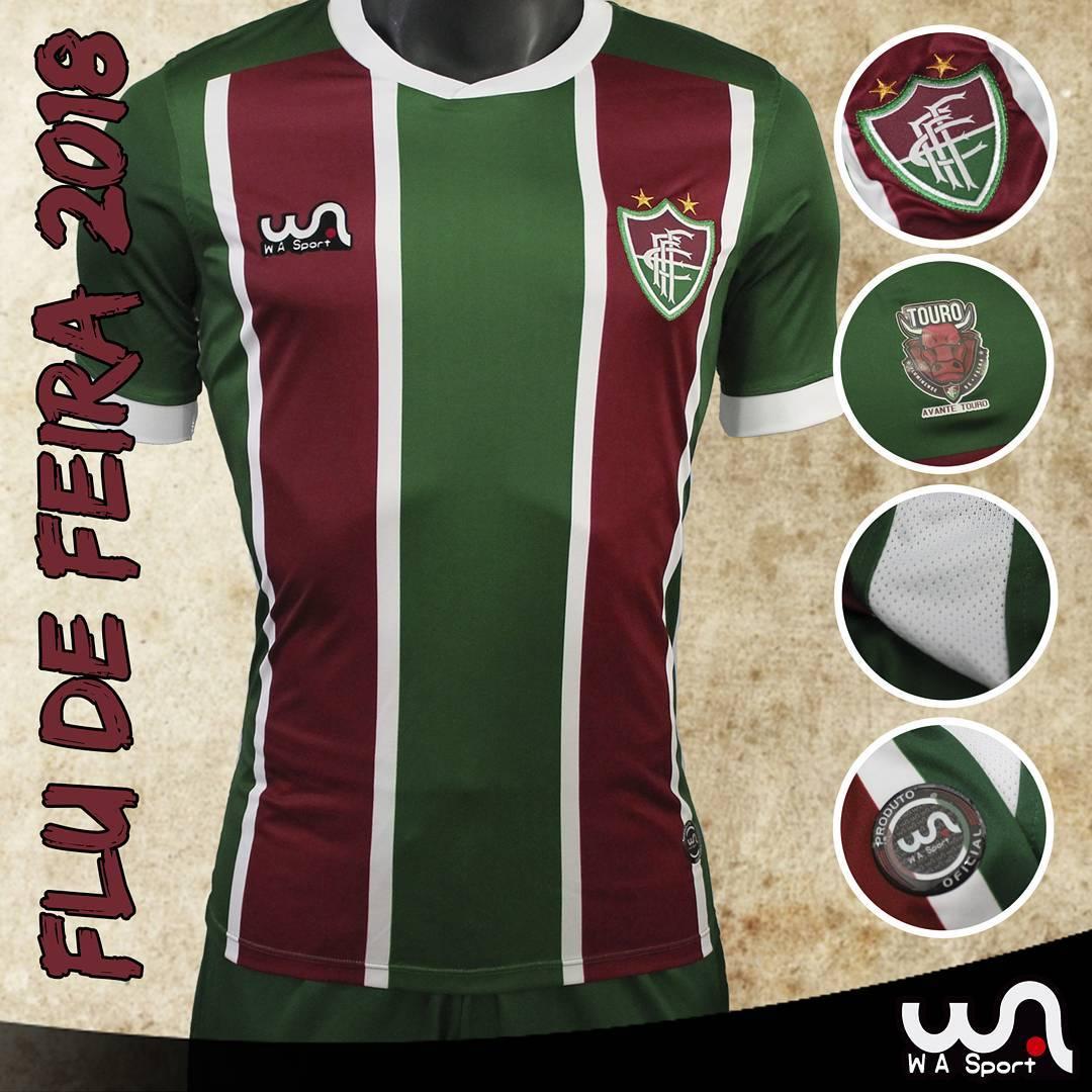 WA Sport lança as novas camisas do Fluminense de Feira - Show de Camisas cb703929834c9