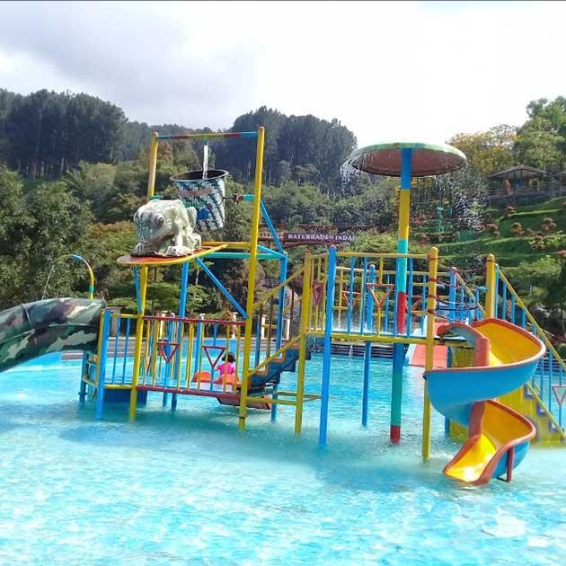 Waterpark Kolam Renang Lokawisata Baturraden
