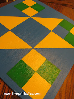 Barn Quilt for Our Fence