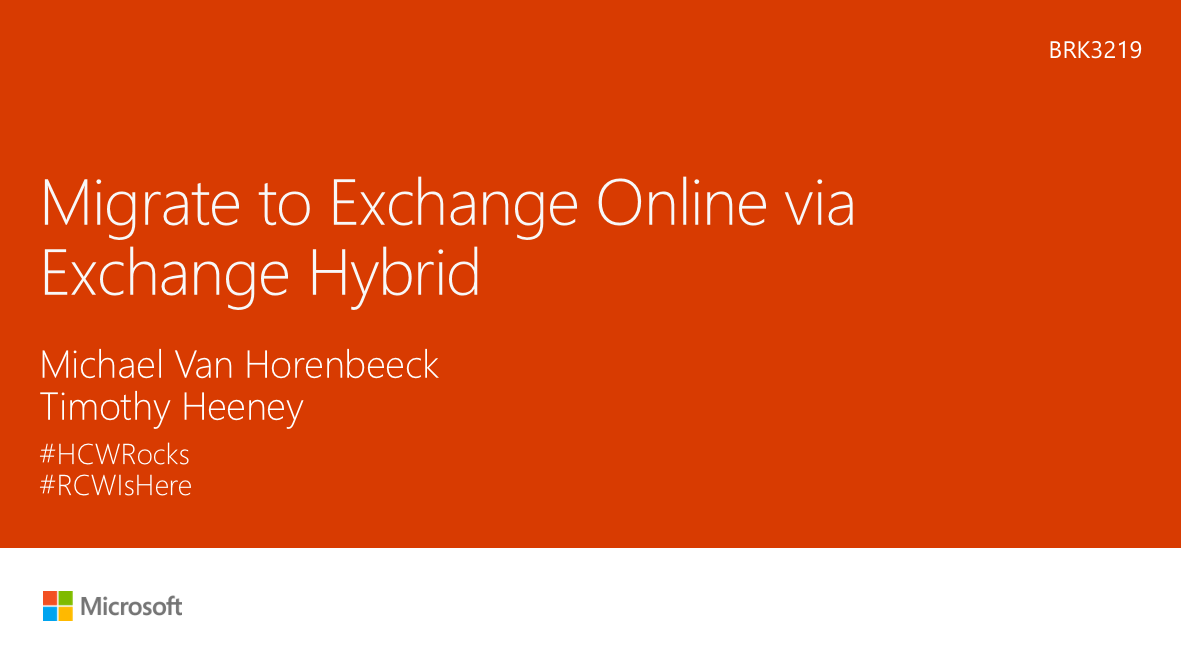 Exchange Anywhere: June 2016