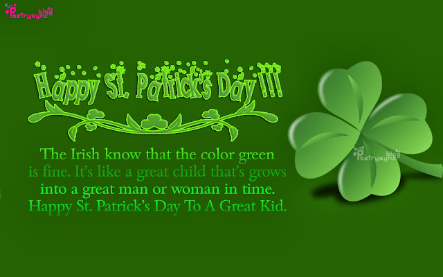 Happy St. Patricks Day Quotes Sayings Blessings Messages with Pictures Images