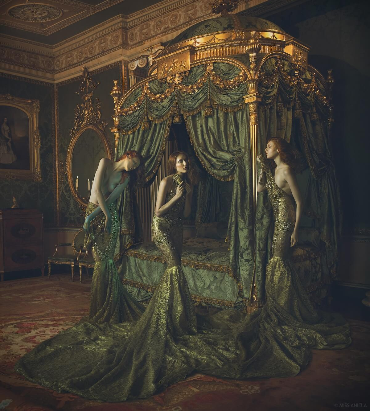 Incredible High-Fashion Portraits Of Opulent Women