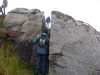 Split Megalith on Thur Mountain Leitrim