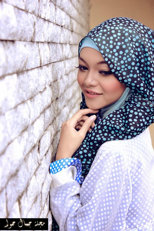 بالصور: كيف تنسقين اطلالة حجابك بصيحة البولكا دوت 2015 polka dots - الملابس المنقطة صيحة الملابس المنقطة أفكار حجاب إطلالات حجاب أزياء المحجبات موضة المحجبات ملابس المحجبات نصائح للمحجبات أناقة نصائح لأناقتك أفكار لستايلك ستايل موضة