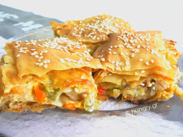 Pepper Phyllo Pie
