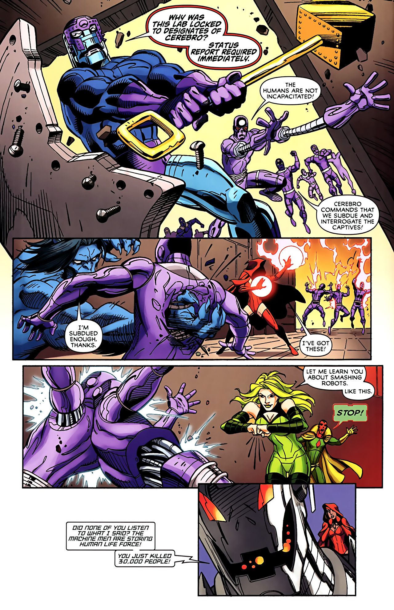 Read online Exiles (2009) comic -  Issue #5 - 11